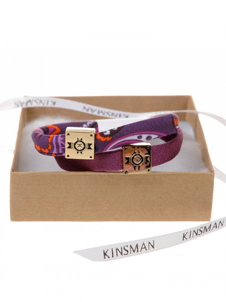 Hair Ties Mermaid Plum