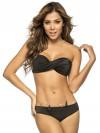 Bikini Twisted Bandeau Color-Mix Black van Phax Chilla