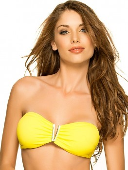 V-Bandeau Top Yellow