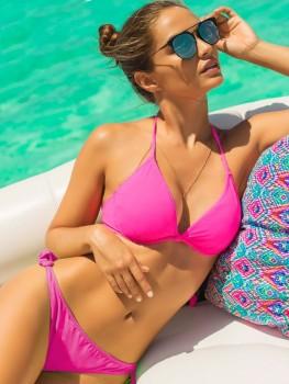 Bikini Underwire Color-Mix Neon Pink