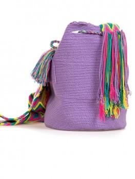 Wayuu Mochila Tas Lavendel van Wayuu Tassen Chilla