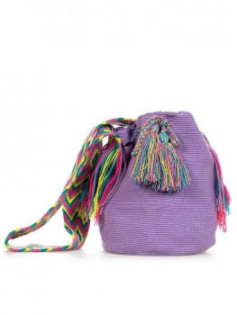 Wayuu Mochila Tas Lavendel