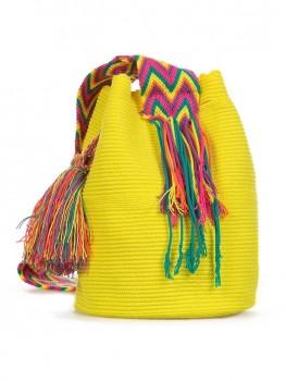 Wayuu Mochila Tas Geel van Wayuu Tassen Chilla