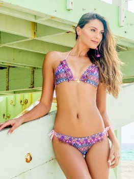 Triangle Bikini Soni Fuchsia van Swim Days Chilla