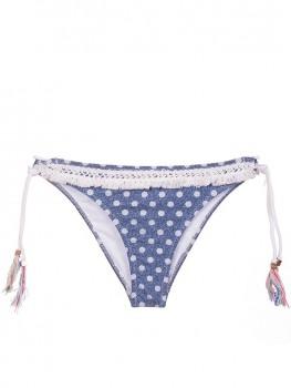 Triangle Bikini Lunares Bordado van Swim Days Chilla