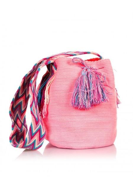 Wayuu Mochila Baby Pink