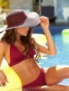 Bikini Halter Color-Mix Wijnrood van Phax Chilla