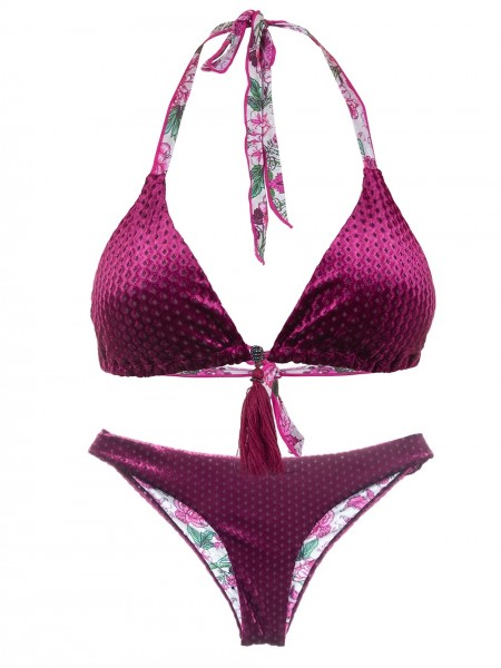 Omkeerbare Bikini Triangle Condesa van April Swimwear Chilla