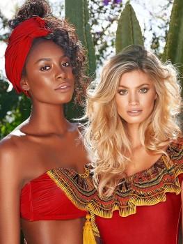 Bandeau Bikini Masai Kralen van Cosita Linda Chilla