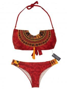 Bandeau Bikini Masai Beads