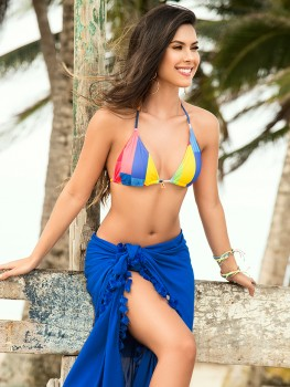 Sarong Miranda Kobaltblauw