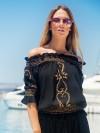 Bardot Top San Marino van Lindsey Brown Chilla
