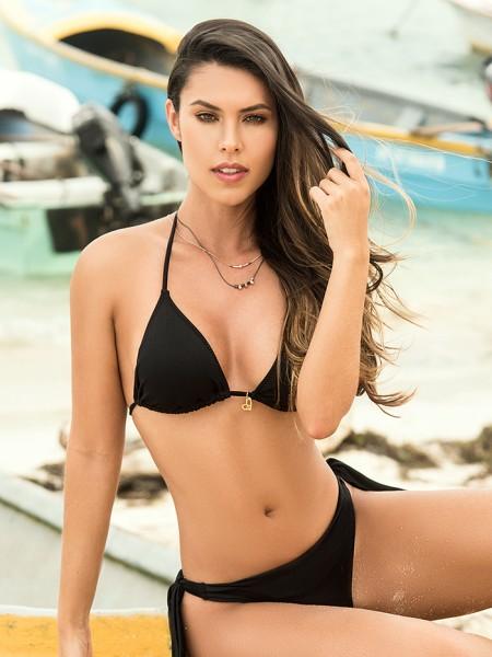Bikini Triangle Black