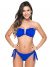 V-Bandeau Bikini Kobaltblauw van Phax Chilla