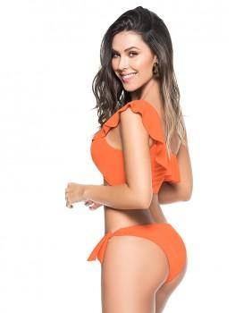 One Shoulder Bikini Orange van Phax Chilla