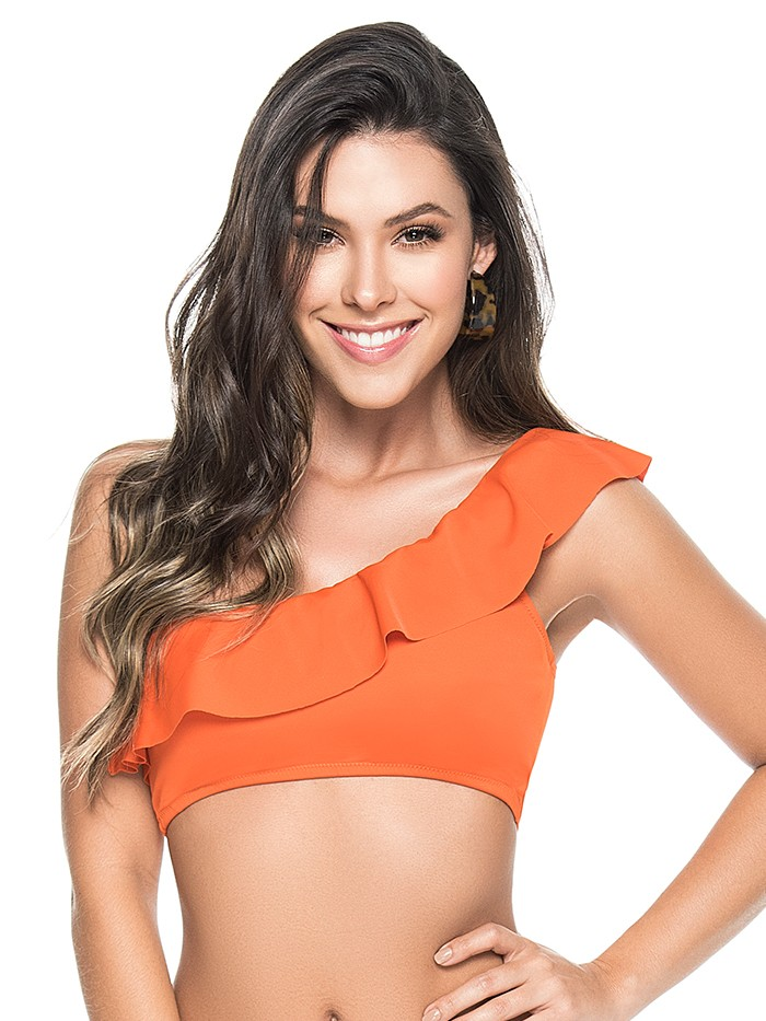 One Shoulder Top Orange van Phax Chilla
