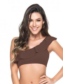 Bikini One Shoulder Brown van Phax Chilla