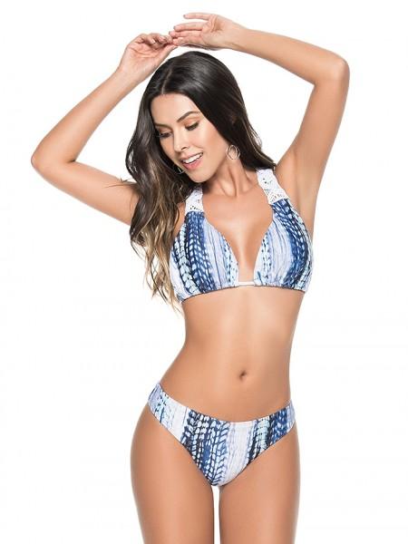 Bikini Halter Tiedye Water