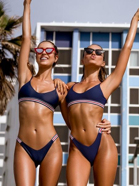 Luxe Sports Bikini Jordan Navy