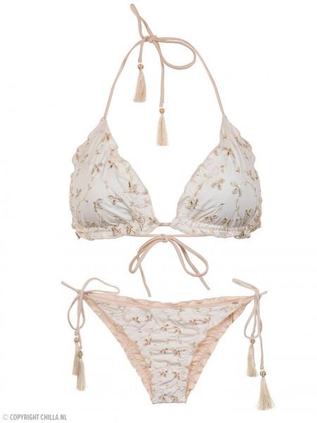 Eyelet Triangle Bikini Coralia van Cosita Linda Chilla