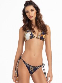Bikini Triangle Tayrona Luxury Blue van April Swimwear Chilla