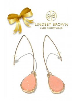 Oorbellen Kimmie Peach van Lindsey Brown Chilla