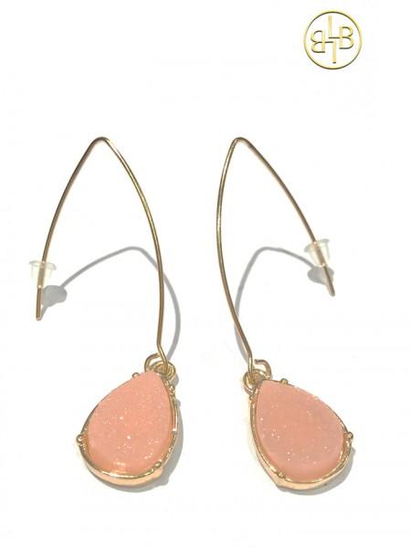 Earrings Kimmie Peach