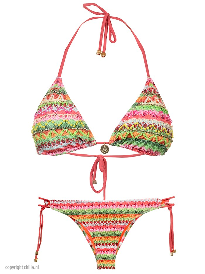 Bikini Cochet Piedras Verde van Swim Days Chilla