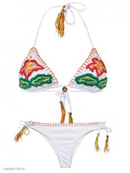 Bikini Ibiscus White van Swim Days Chilla