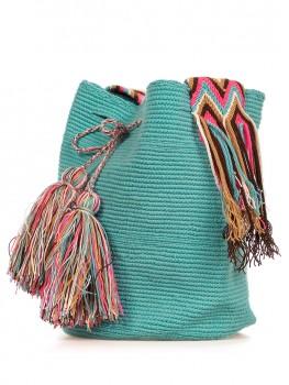 Wayuu Mochila Turquoise