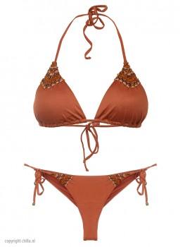 Bikini Triangle Dunas Terracotta van Mystical Swimwear Chilla