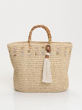 Beach Bag Tivoli White