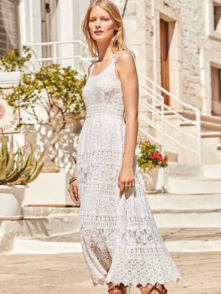 Lia Strappy Maxi-Dress