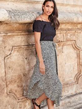 Wrap Skirt Leopard Mood Kate