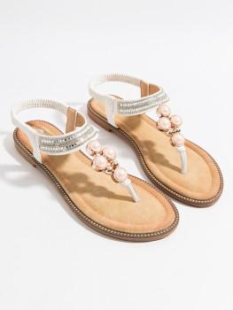 Slippers Amira White