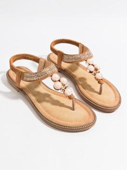 Slippers Amira Bruin