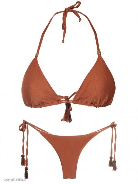 Bikini Jaspe Terracotta van Perla Santa Chilla