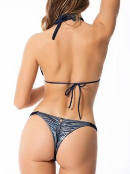 Bikini Amatista Blauw van Perla Santa Chilla